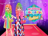 Jeu Influenceuses Cheveux Colorés