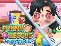 Jeu Funny Rescue Carpenter