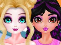 Jeu Elsa Leçon de Maquillage