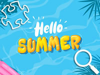 Jeu Hello Summer Puzzles