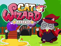 Jeu Cat Wizard Defense