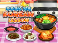Jeu Cooking Korean Lesson