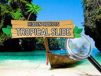 Jeu Hidden Objects Tropical Slide