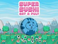 Jeu gratuit Super Sushi Cat-A-Pult