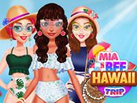 Jeu Mia et ses amies à Hawaï