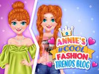 Jeu Annie et son blog