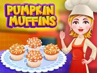 Jeu Recette - Muffins Citrouille