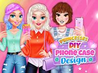 Jeu Princesses DIY - Coques de téléphone