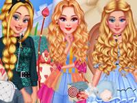 Jeu Princesses - Pays des Merveilles