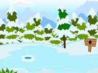 Jeu Snow Land Escape
