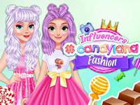 Jeu gratuit Influenceurs à #CandyLand