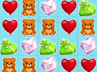 Jeu Candy Love Match Game