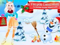 Jeu Elsa - Maison de Noël