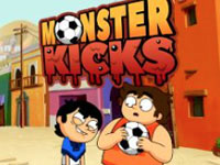 Jeu Victor and Valentino Monster Kicks