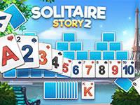 Jeu Solitaire Story - TriPeaks 2