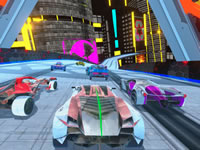 Jeu Cyber Cars Punk Racing
