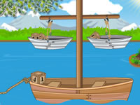 Jeu Boat Balancing