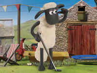 Jeu Shaun The Sheep - Baahmy Golf