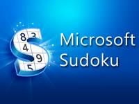 Jeu Microsoft Sudoku