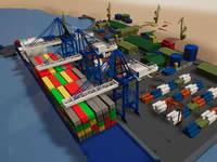 Jeu Suez Canal Training Simulator