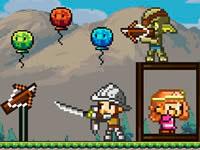 Jeu Pixel Archer Save The Princess