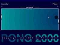Jeu Pong 2000