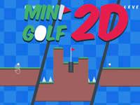 Jeu Mini Golf 2D