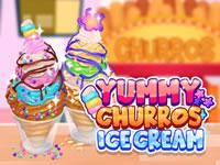 Jeu Yummy Churros Ice Cream
