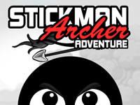 Jeu Stickman Archer Adventure