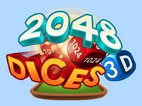 Jeu Dices 2048 3D