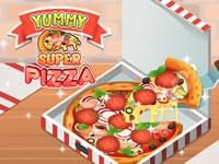 Jeu Yummy Super Pizza