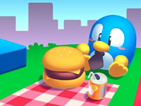 Jeu gratuit Picnic Penguin