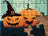 Jeu Halloween Puzzle