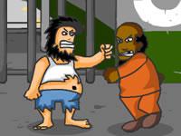 Jeu Hobo Prison Brawl