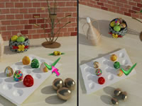 Jeu Easter Spot The Difference