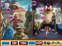 Jeu Monsters VS Aliens Similarities