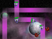 Jeu Space Invasion Tower Defense 2
