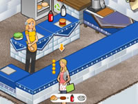 Jeu Burger Restaurant 4