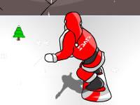 Jeu Snowboarding Santa