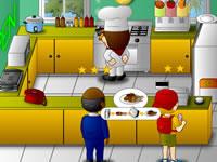 Jeu Diner Chef