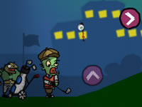 Jeu Zombie Sports Golf