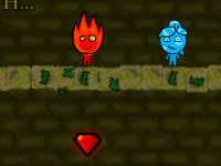 Jeu gratuit Fireboy and Watergirl 3 - In The Forest Temple