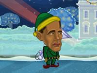 Jeu Obama vs. Santa