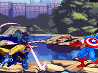 Jeu gratuit X-Men Vs. Street Fighter