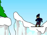 Jeu Jump the Gorge