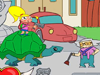 Jeu Turtle Girl