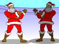 Jeu gratuit Santa Fighter 2000