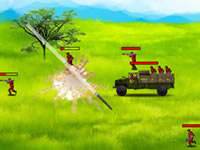Jeu Battle Gear Missile Attack