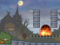 Jeu Roly-Poly Cannon - Bloody Monsters Pack