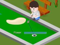 Jeu Electrotank Mini Golf